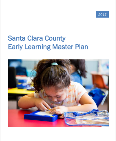 Early Learing Master Plan cover